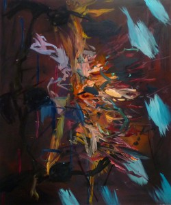 Dancer, 2011, oil on canvas, 183cm x 153cm